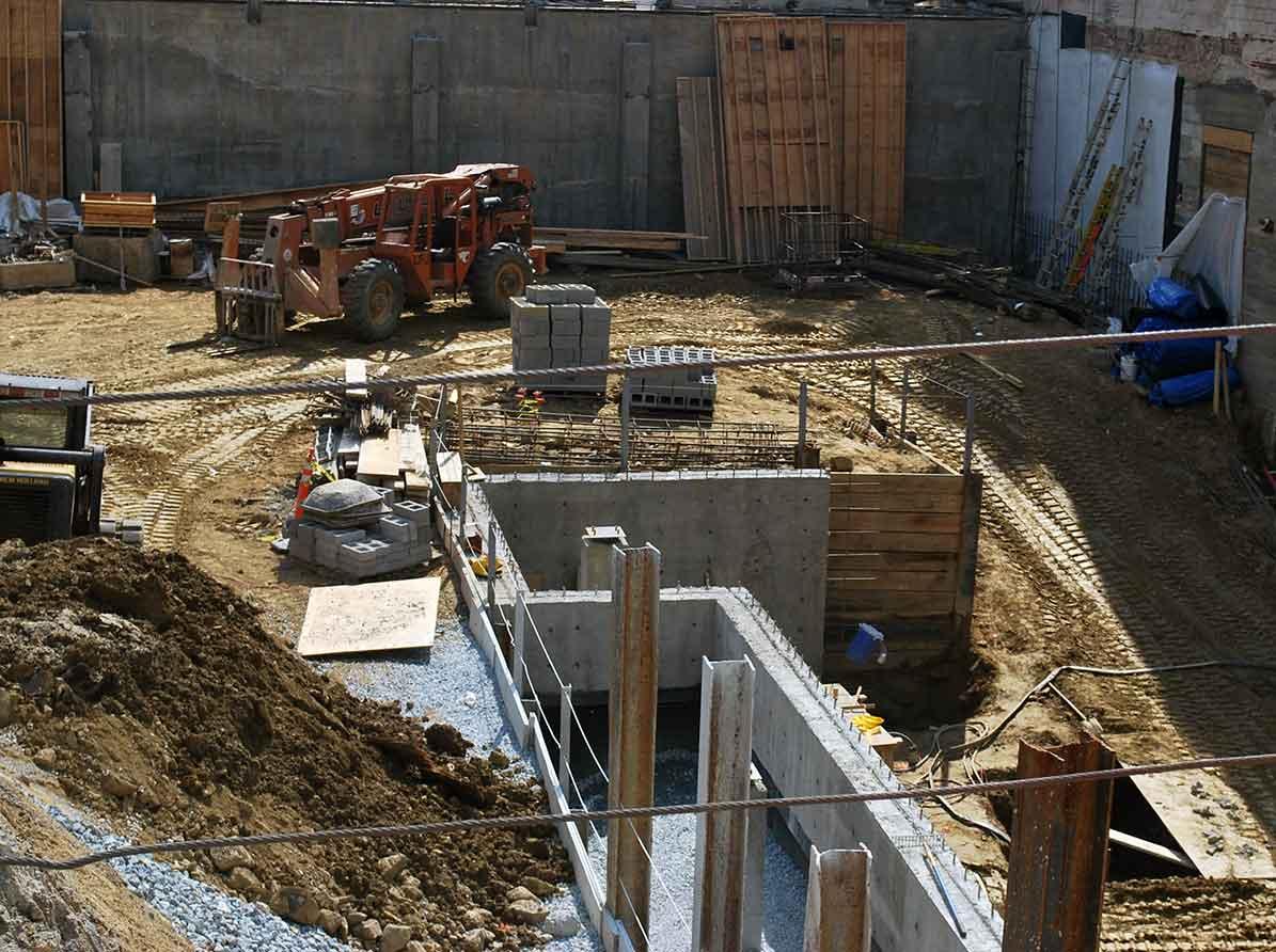 Baugrube Sachverständiger und Gutachter für Immobilien Bernd A. Binder
