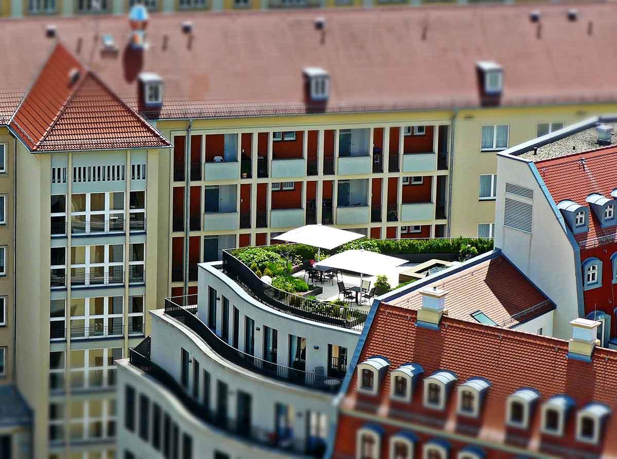 Dachgarten Sachverständiger und Gutachter für Immobilien Bernd A. Binder